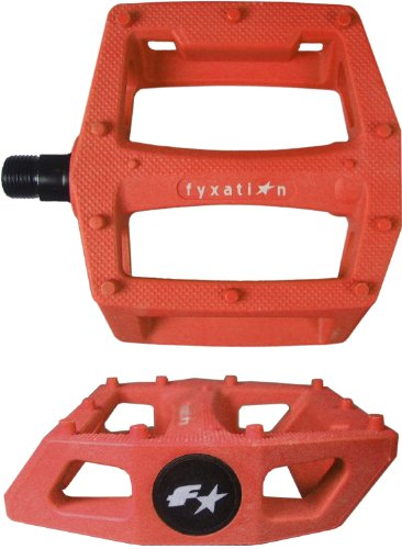 fyxation puertas BMX Plataforma Pedal, Anaranjado