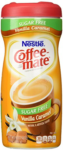 Creamers Flavored Powder (Coffee-Mate Coffee Creamer Powder, Sugar-Free Vanilla Caramel, 10.2 oz)