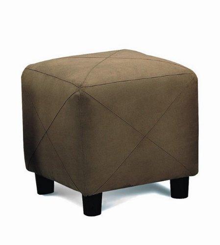Microfiber Cube Footstool - 7