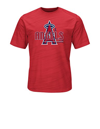 VF LSG MLB Los Angeles Angels Men's Bringing The Glory Tee, Red, Medium