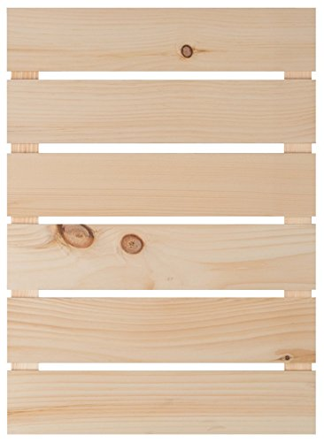 - Natural Wood Finish 17 x 23.5 Inch Pine Wood Craft Pallet