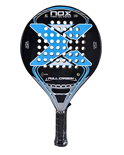 Pala De Padel Nox Full Carbon Blue: Amazon.es: Deportes y ...