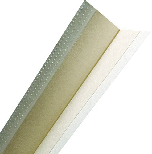 No Coat Drywall - No-Coat Ultratrim Flexible Drywall Corner Bead 8 ft L x 0.57 in at Center, 0.2 in at Edge T, Co-Polymer Core