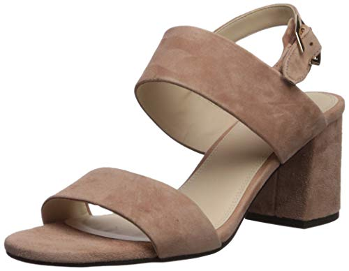 Cole Haan Women's Avani City Sandal 65MM Heeled, Mocha Mousse Suede 7.5 B US
