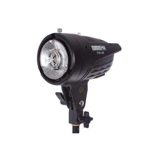 Fovitec StudioPRO Professional Photography Studio 150W/s Monolight Strobe Flash Head with Bowens Style Mount by Fovitec