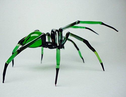 Spider - lampworked lifelike glass arachnid spider figurine, glass insect, Art Glass Spider, blown glass figurine Spider, glass insects
