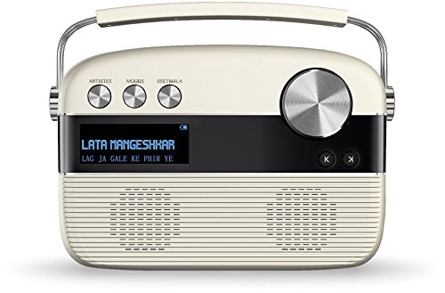 (SAREGAMA Carvaan SC01 Portable Digital Music Player (Porcelain White))