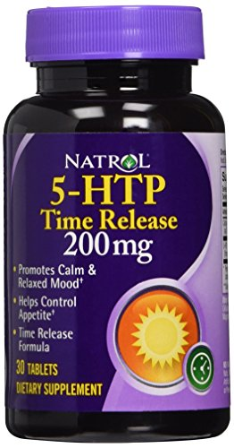 Natrol 5-HTP TR Time Release, 200mg, 60 Tablets