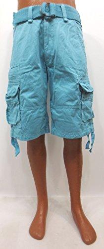 Jordan Craig Cargo shorts Ice Blue style 4300 Men (34) by Jordan Craig