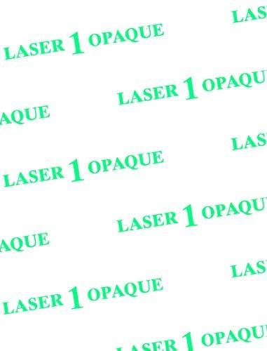 Laser 1 Opaque Dark Heat Transfer Paper 8.5x11 10 sheets Best Price in