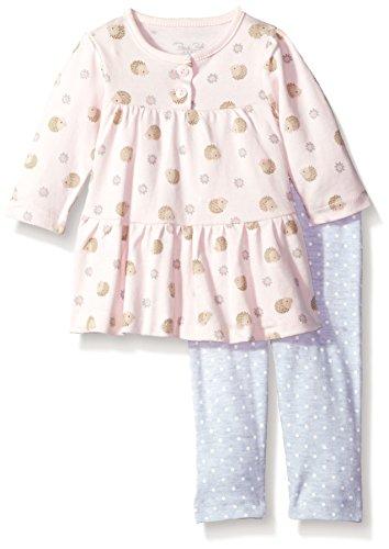 Rene Rofe Baby Baby Little Newborn Girls 2 Piece Dress Set