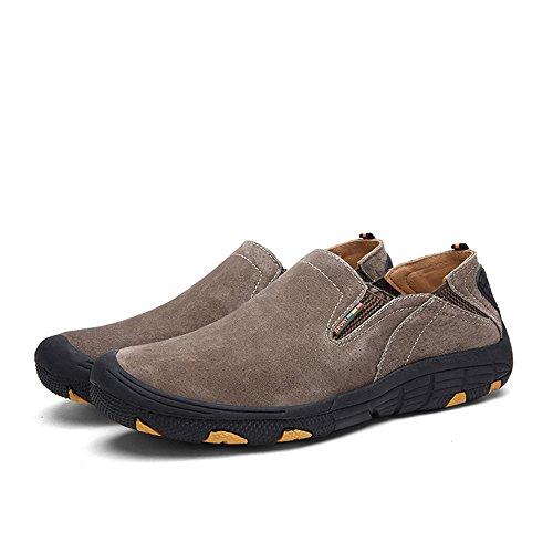 SHELAIDON , Chaussures à lacets homme Kaki