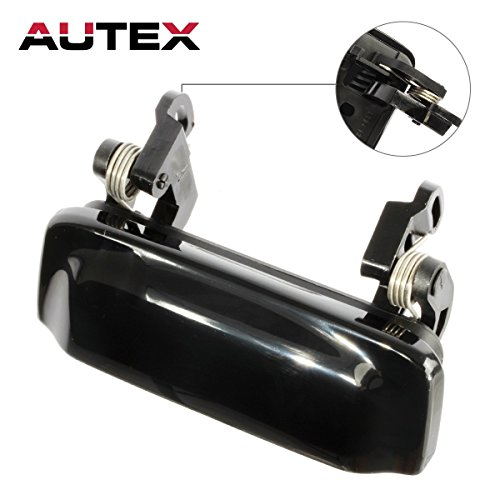 AUTEX Black Exterior Front/Rear Right/Left Door Handle Compatible with 1998 1999 2000 2001 Ford Explorer Mercury Mountaineer 2001 2002 2003 2004 2005 Ford Explorer Sport Trac 79102, 2L2Z7822404AAPTM