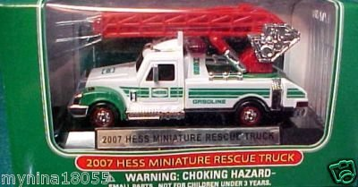 2007 Hess Miniature Rescue Truck by Hess