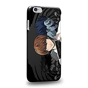 """Case88 Premium Designs Death Note Light Yagami L Lawliet Ryuk 1210 Protective Snap-on Hard Back Case Cover for Apple iPhone 6 4.7"""""""