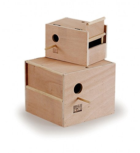 Prevue Pet Products BPV1106 Outside Mount Nest Box for Cockatiel, Large by Prevue Pet Products