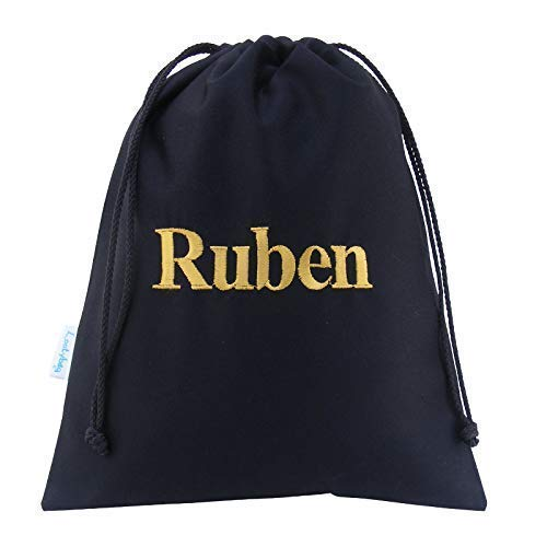 the latest autumn shoes popular stores Black Personalised Drawstring Wash Bag Toiletry Bag Cotton Canvas ...