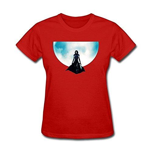 Tommery Women's Underworld Horror Design Short Cotton T Shirt