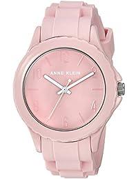 Women's AK/3241LPLP Light Pink Silicone Strap Watch