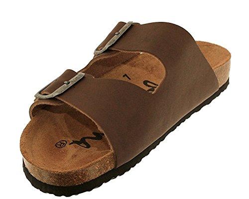 Sandales Bio marrons Braun