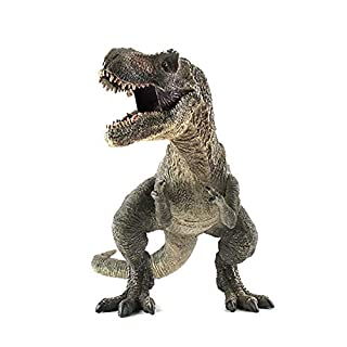 EOIVSH Large Dinosaur Toy Tyrannosaurus Rex 12 inch, Plastic Jurassic World Dinosaur Figure Realistic Educational Model Animal Figurine Great for Collector, Decoration, Party Favor