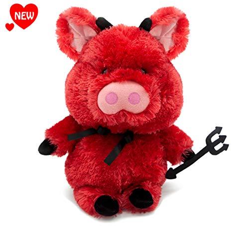 Aurora World Deviled Ham Red Pig 12