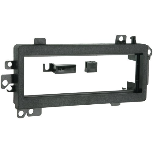 (1 - 1974 - 2003 Chrysler/Dodge/Plymouth/Ford Single DIN Installation Kit, Fits most models of Dodge, Chrysler & Plymouth through 2004 as well as select Ford & Jeep vehicles, Includes corner support components that eliminate the flexing or rocking of the kit that has been experienced with other kits on the market, 99-6700)