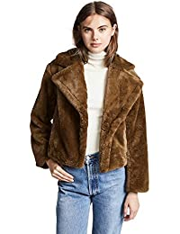 Womens Plush Coat