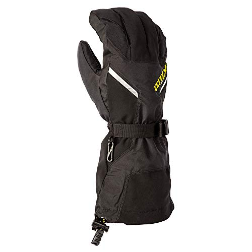Klim Klimate Men's Ski Snowmobile Gloves - Black / 2X-Large