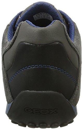 Homme Serpent Sneaker Herren U4207k01422c6105 anthracite Geox K Grau 77gdqr