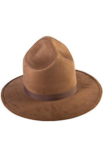 Mountie Costumes (Forum Novelties Extra Tall Canadian Pharrell Mountie Costume Hat One)