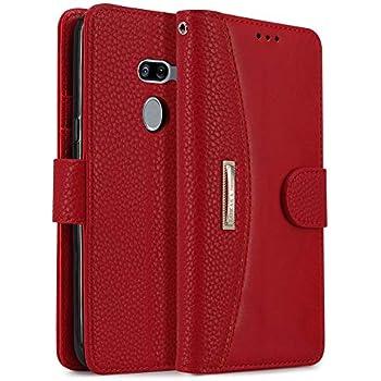 cb10894fe9c8 Amazon.com: KEZiHOME LG G8 ThinQ Wallet Case, LG G8 Case, [RFID ...