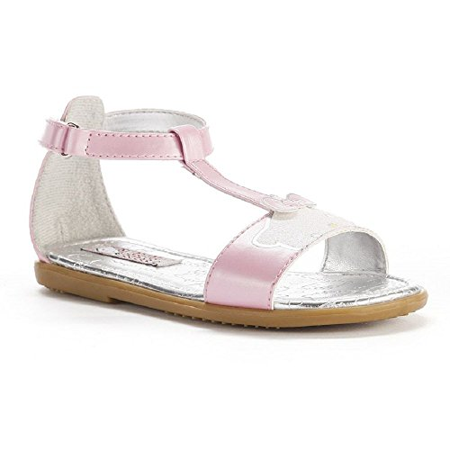 ff8b47be9 Hello Kitty Pink T-Strap Sandals - Girls by Hello Kitty