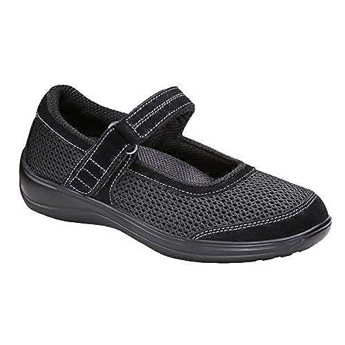 d714da750125 Orthofeet Comfortable Orthopedic Diabetic Arthritis Chattanooga Mary Jane  Womens Shoes free shipping