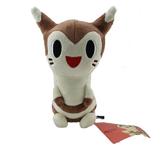 Pokemon Furret Stuffed Animal Plush Doll Toy Good Gift Handmade