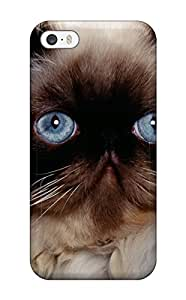 Cute Appearance Cover Tpu Persian Cats Case For Iphone 5/5s