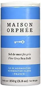 Maison Orphee Sea Salt-Fine Grey Sea Salt, 250g