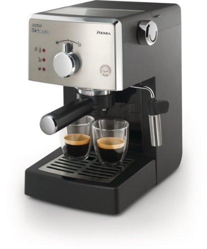 Saeco HD8325/47 Poemia Class Manual Espresso Machine, (Saeco Black Coffee Maker)