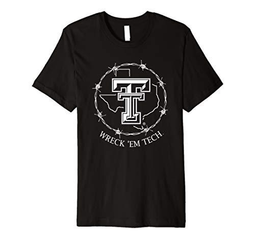 (Texas Tech Red Raiders Texas Symbol Circle T-Shirt - Apparel)