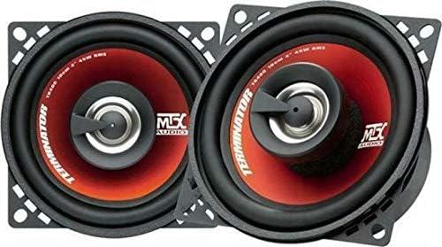 Inex Mtx TR40C Terminator 10cm 4  2 Voie 160 Watt Voiture//Camionnette Coaxial pour Enceintes Audio