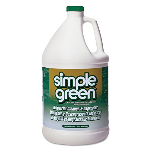 Degreaser 1 Gallon Bottle - Simple Green 13005CT Industrial Cleaner & Degreaser, Concentrated, 1 gal Bottle (Case of 6)