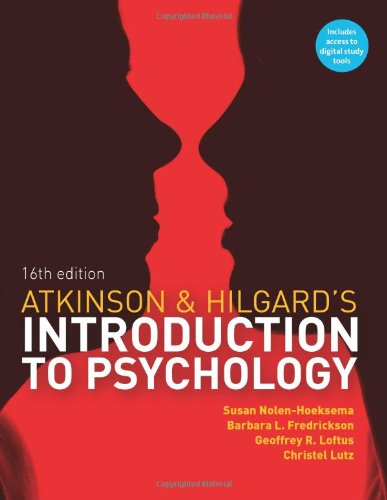 Atkinson & Hilgard's Introduction to Psychology, 16e