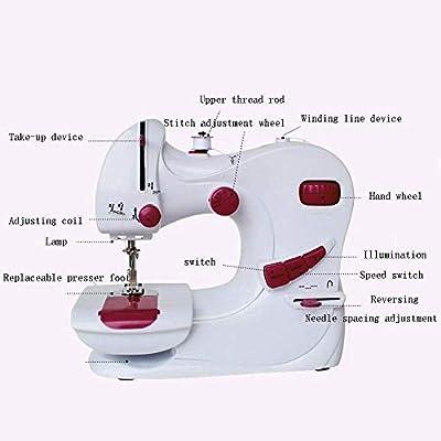 Máquina de coser portátil, máquina de coser portátil con aleación ...