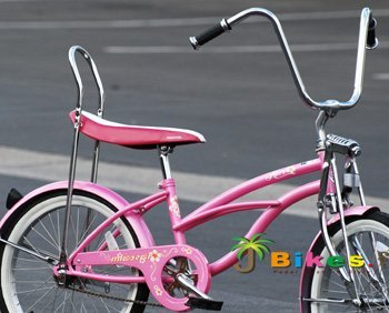 Micargi Hero, Pink – Girls' 20″ Lowrider Bike Top Deals
