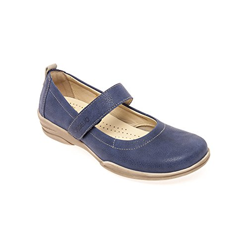 Fidelio 395006 09 Hallux Giana G Women's Mary-Jane Shoe In Ocean Blue Leather 56 Ocean uE1Iqdwrv