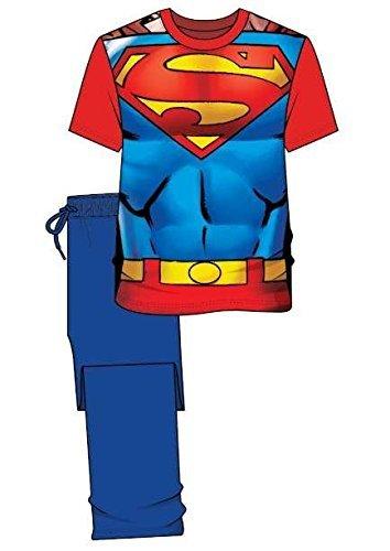 Personaje para Hombre Superman Batman Star Wars Pijama Pijama de algodón Top Pantalones de Andar por
