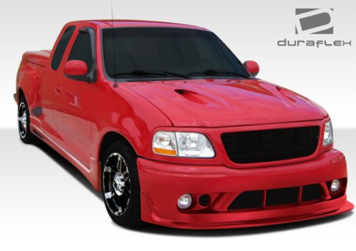 Duraflex Replacement for 1997-2003 Ford F-150 2DR Stepside Extended Cab Cobra R Body Kit (round tailights) - 4 Piece