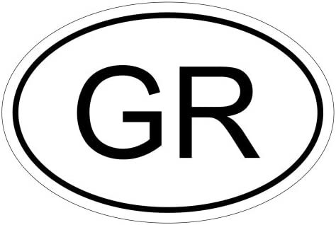 Kiwistar Griechenland Gr 15 X 10 Cm Autoaufkleber Sticker Aufkleber Kfz Flagge Auto