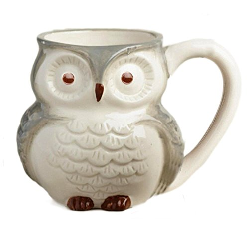 Surprise Owl Coffee Mugs