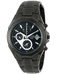 Pulsar Mens PF3961 Chronograph Black Dial Watch